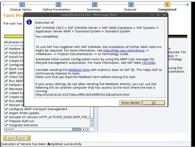 SAP S/4 HANA Installaiton using up-to-date installation