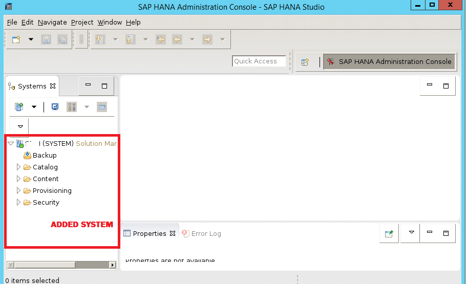 HOW TO ADD SAP HANA SYSTEM IN HANA STUDIO